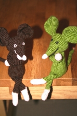 souris, dispute, crochet, laine, amigurumi